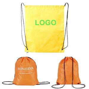 Customized Promotional Drawstring Backpack
