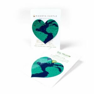 Mini Earth Heart Style Shape Seed Paper Gift Pack