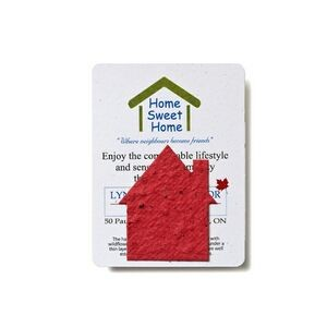 Mini House Style 1 Shape Seed Paper Gift Pack
