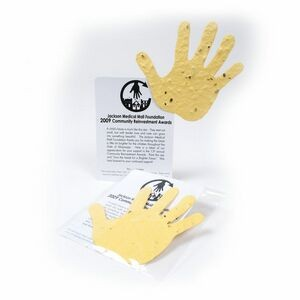 Mini Hand2 Style Shape Seed Paper Gift Pack
