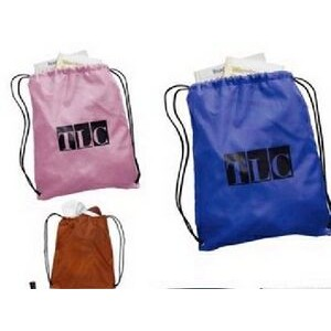 190T Nylon Drawstring Backpack (16.5